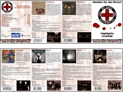 Dr. Music Distribution Flyer