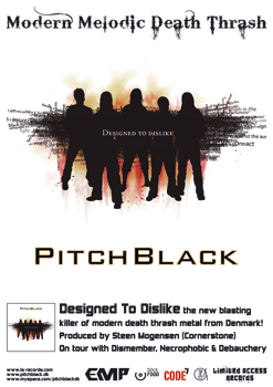 PitchBlack - Designed To Dislike