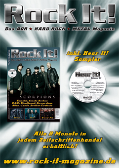 Rock It! Magazin Flyer 2007