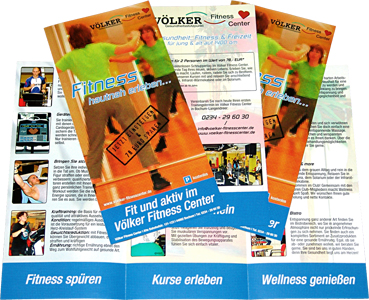 Voelker Fitness Center - Broschüre